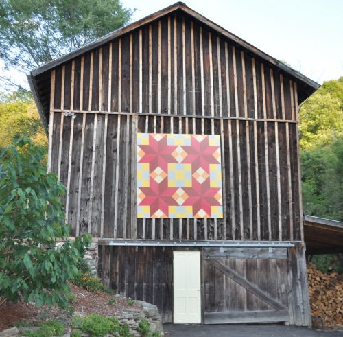 Barn Quilt at Val's Quilting